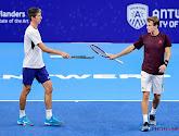Yannick Mertens en Michael Geerts naar kwartfinales dubbelspel op European Open