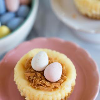 Mini Cheesecake Nests