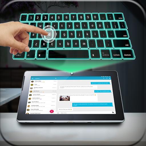 Virtual Keyboard Simulator