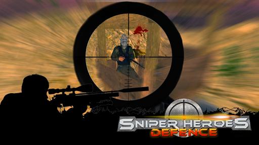 狙擊手英雄防禦3D