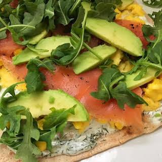 Smoked Salmon Flatbread Pizza Recipes.