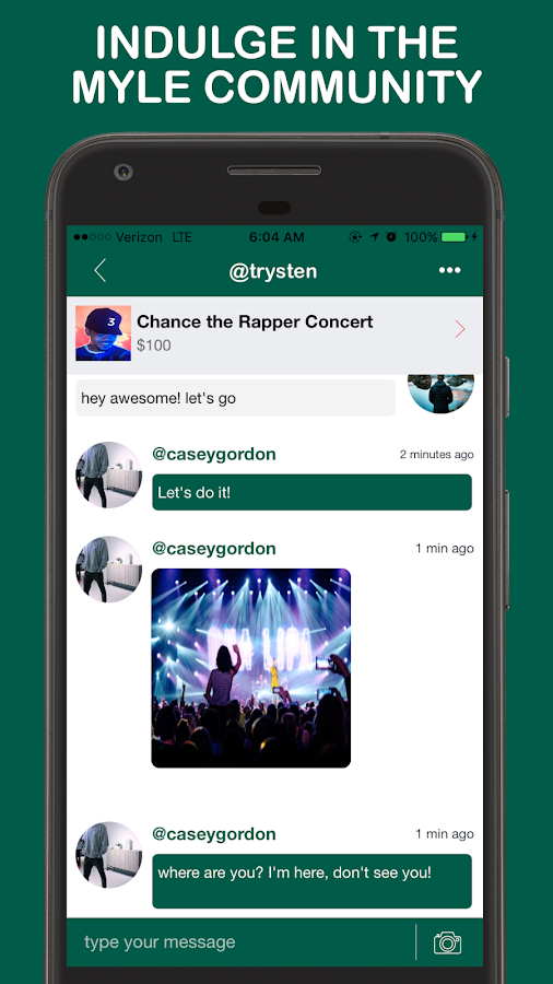 MYLE - Events Curated For You- screenshot