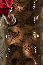 Photo: The ceiling of Canterbury Cathedral