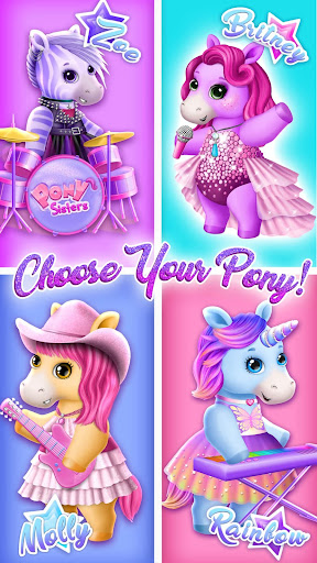 Pony Sisters Pop Music Band - Play, Sing & Design screenshots 2