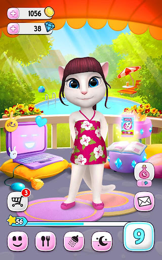 My Talking Angela  gameplay | by HackJr.Pw 10
