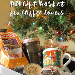 DIY Coffee Lovers Gift Basket