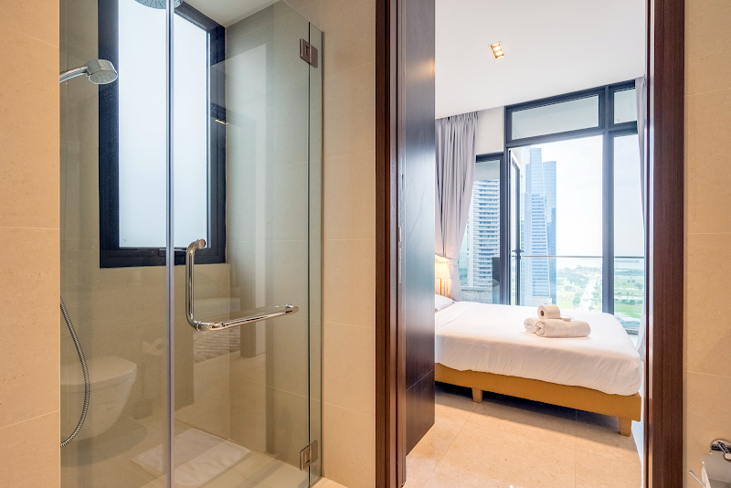 Bathroom at Robinson Rd Apartments, Singapore