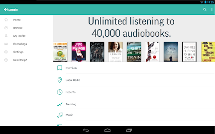 TuneIn Radio Pro - Live Radio Screenshot 9