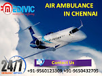 Book India's Cheap Medical Care Air Ambulance Service in Chennai by Medivic