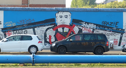 Photo: East Side Gallery; Georg Lutz Rauschebart, ohne Titel
