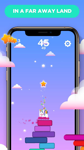 Jump! Stack! Unicorn! - screenshot