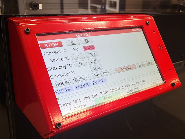 Modix BIG-120X Electronic Controller and Touch Screen Add-on