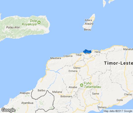Mapa Timor Leste