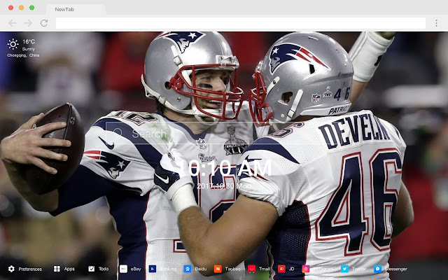 New England Patriots New Tab HD Themes