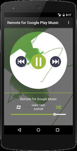 Remote for Google Music