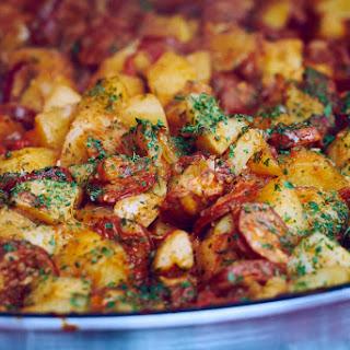 Instant Pot Spanish Chorizo & Potato Hash