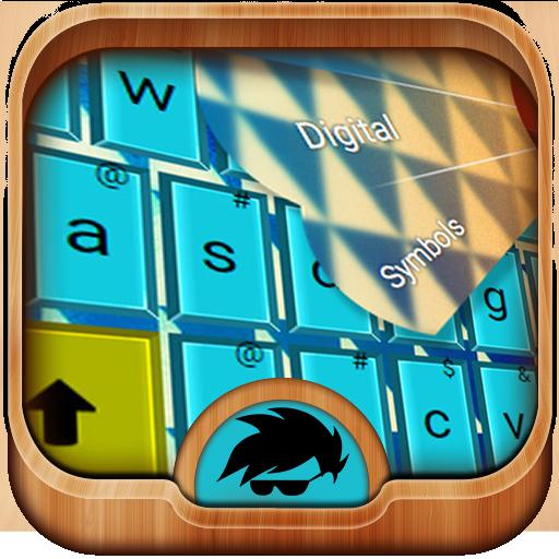 颜色主题键盘 個人化 App LOGO-硬是要APP