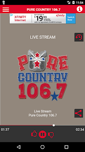 Pure Country 106.7- screenshot thumbnail