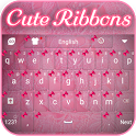 Cute Ribbons Keyboard icon