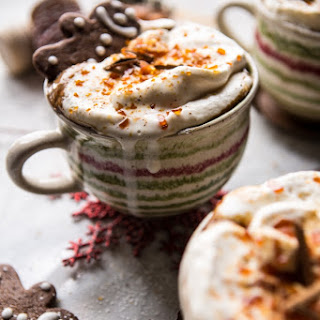 Gingerbread Latte with Salted Caramel Sugar.