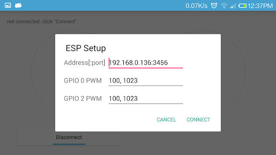 WiFi PWM- screenshot thumbnail