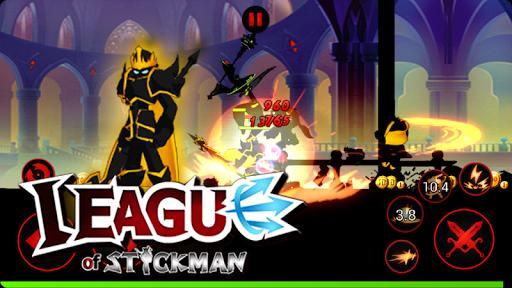 Trận chiến trong game người que League of Stickman hack