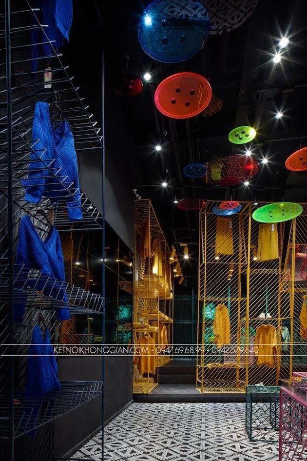 thiết kế shop thời trang JOOOS 10