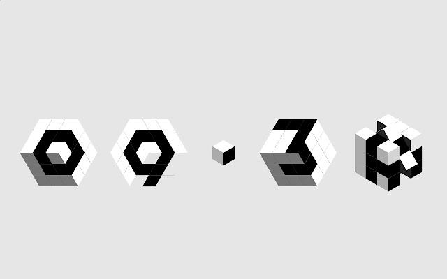 3D clocks new tab