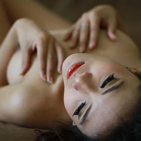 i'm missing you.. by Baron Danardono Wibowo - Nudes & Boudoir Artistic Nude