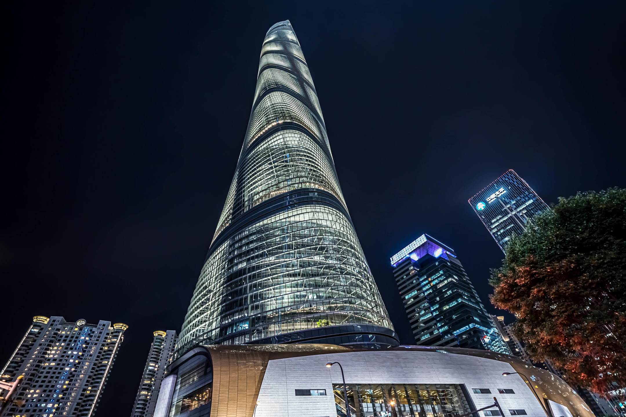 Shanghai Tower light-up