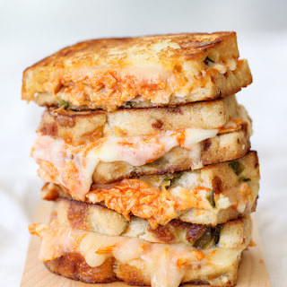 Buffalo Chicken Grilled Cheese and How to Get an Epic Grilled Cheese Photo.