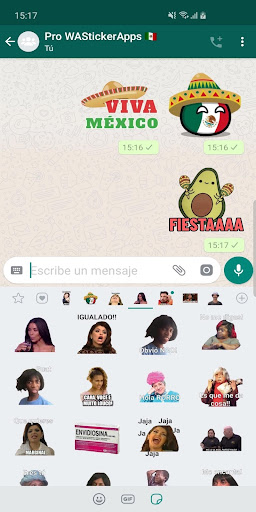 ?? Mexican memes Stickers - New WAStickerApps 2.8.0 screenshots 3