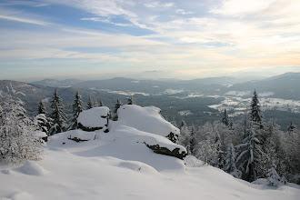 Photo: Aussicht von der Auerhahn-Loipe