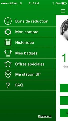android ma Carte BP Screenshot 4