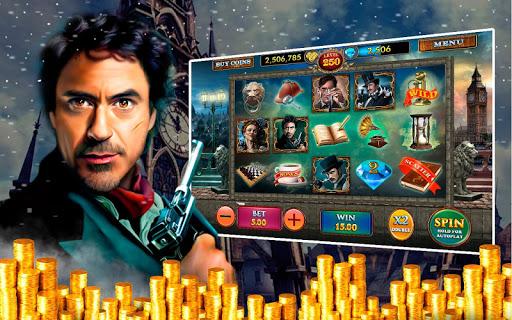 Sherlock Holmes Vegas Slots HD