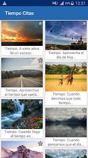 Download Tiempo Citas y frases famosas For PC Windows and Mac apk screenshot 1