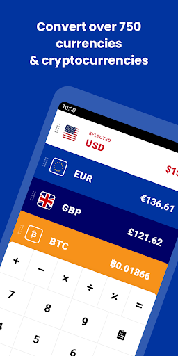 CoinCalc - Currency/Exchange Converter + Crypto screenshot 1
