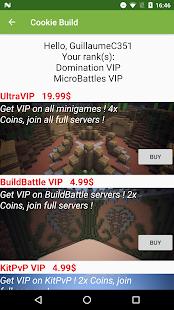 Cookie Build Network Apps On Google Play - Minecraft pe server erstellen mac
