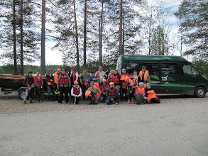 Photo: Retkelle osallistui 8 vaunukuntaa.