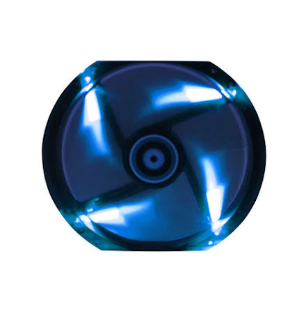 Bitfenix vifte m/blå LED, Spectre, 230x30