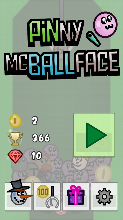 Pinny McBallface Pinball- screenshot