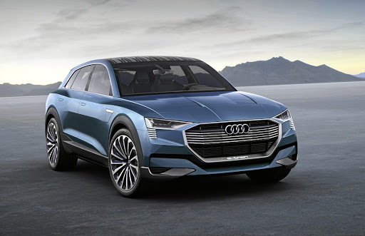 The Audi E-Tron SUV concept will be the first proper battery electric vehicle from the brand when it launches in 2018 and it is planned for SA. Picture: NEWSPRESS UK