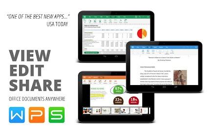 WPS Office + PDF Screenshot 1