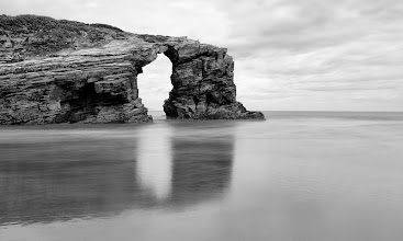 Photo: Playa de Las Catedrales, Spain  The rocks on this beach are absolutely amazing. The tide was raising fast but I still had time for some long exposures.
