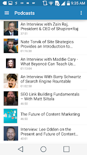 Marketing Technology Blog- screenshot thumbnail