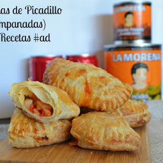 Empanadas de Picadillo (Potato Empanadas) #MejoresRecetas #ad
