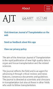 American Jnl Transplantation- screenshot thumbnail