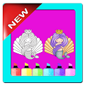 Mermaid Coloring Book-Easy Coloring Book icon