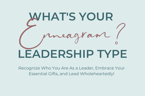 What's your enneagram leadership type quiz cover