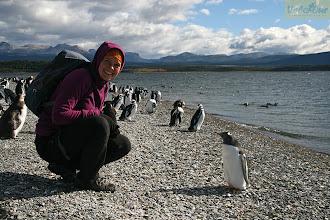 Photo: Поездка по Южной Америке завершилась на суше, которая ближе всех остальных подходит к Антарктиде. Огненная Земля – суровый край. Поражаешься почему пингвины живут именно здесь. Вероятно, в Антарктиде еще хуже?:)  Место съемки: Патагония, Южная Америка Поездка: велоэкспедиция по Южной Америке